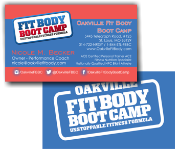 Oakville Fit Body Business Card